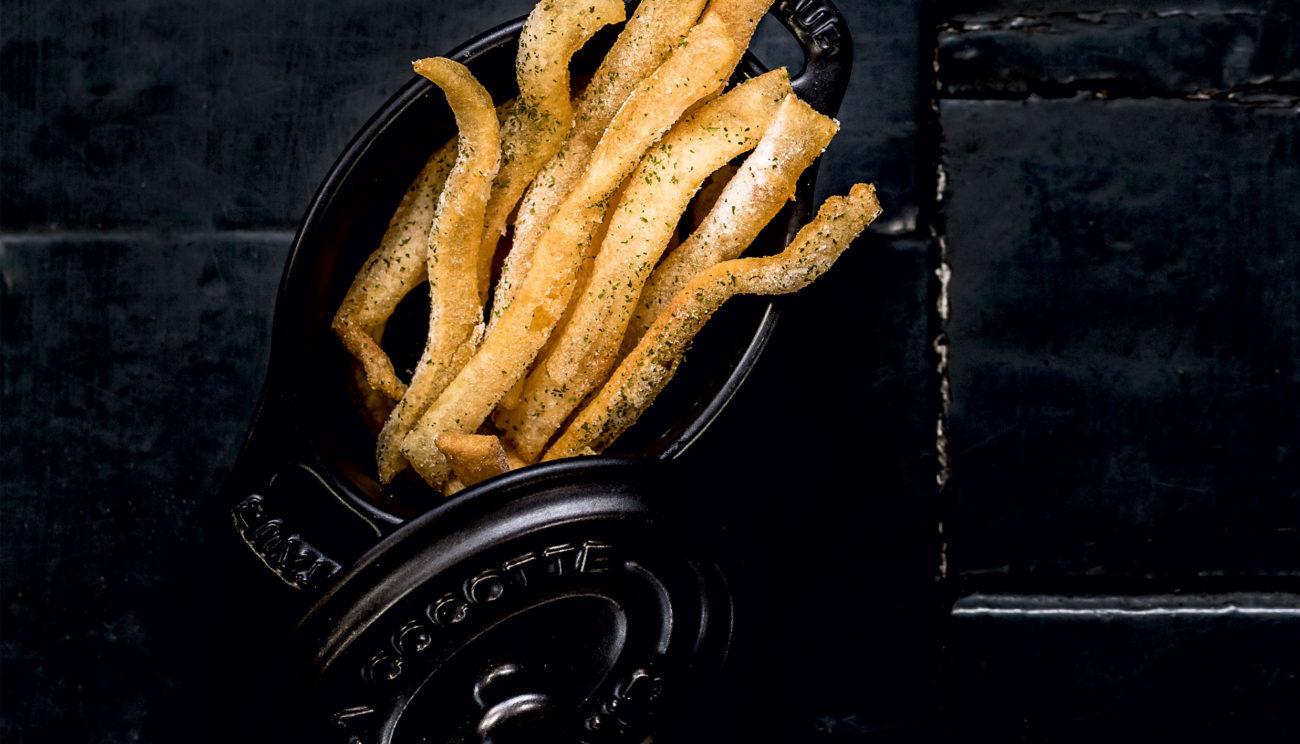 Soufflerede kartoffelchips