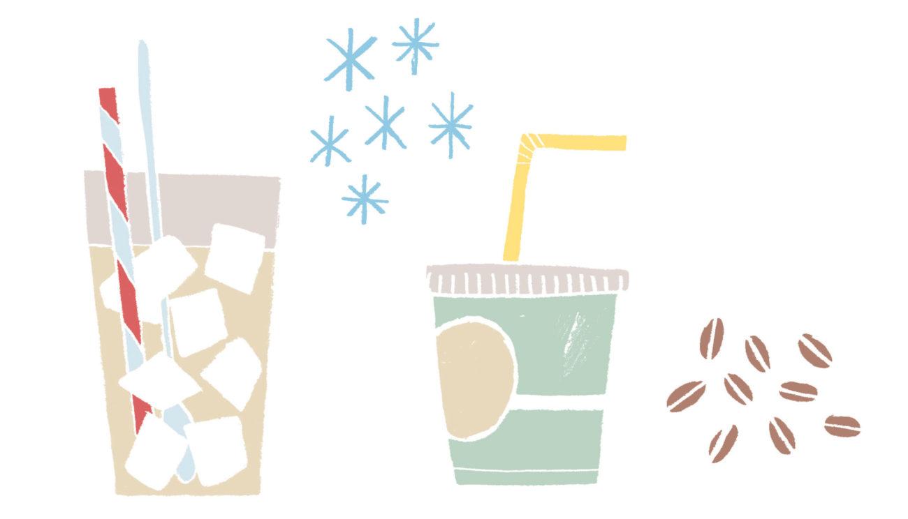 4 gode steder med iskaffe