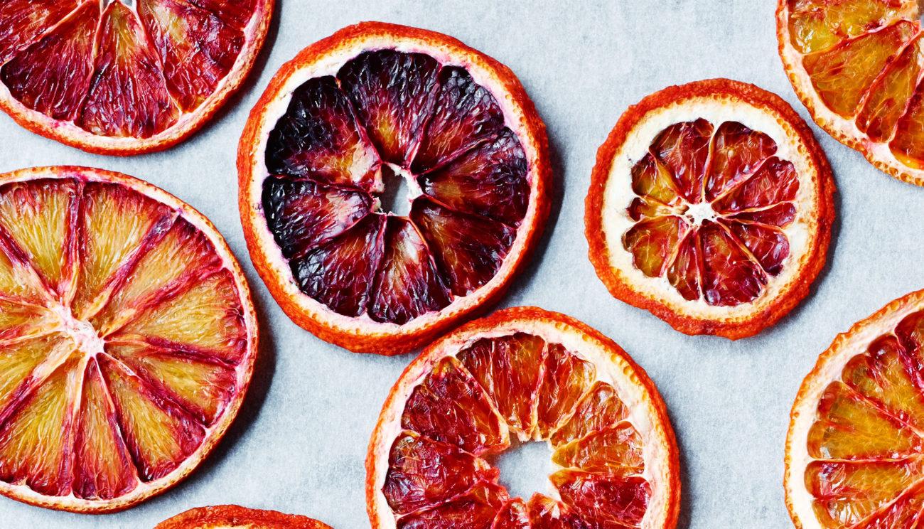 Seks opskrifter med blodappelsiner