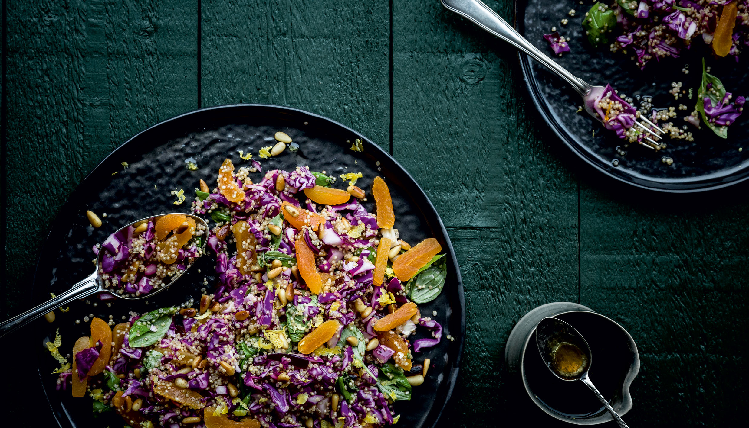 rødkaalssalat quinoa