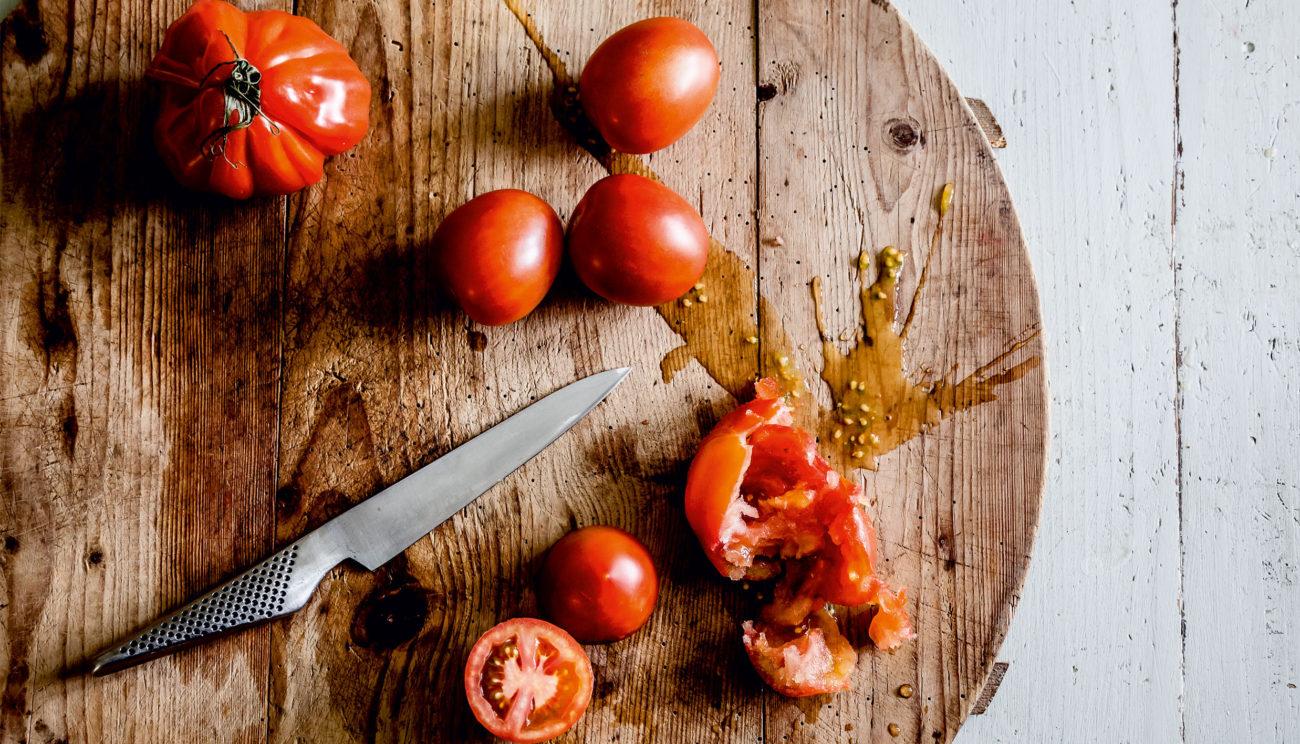 Tomater & svampe