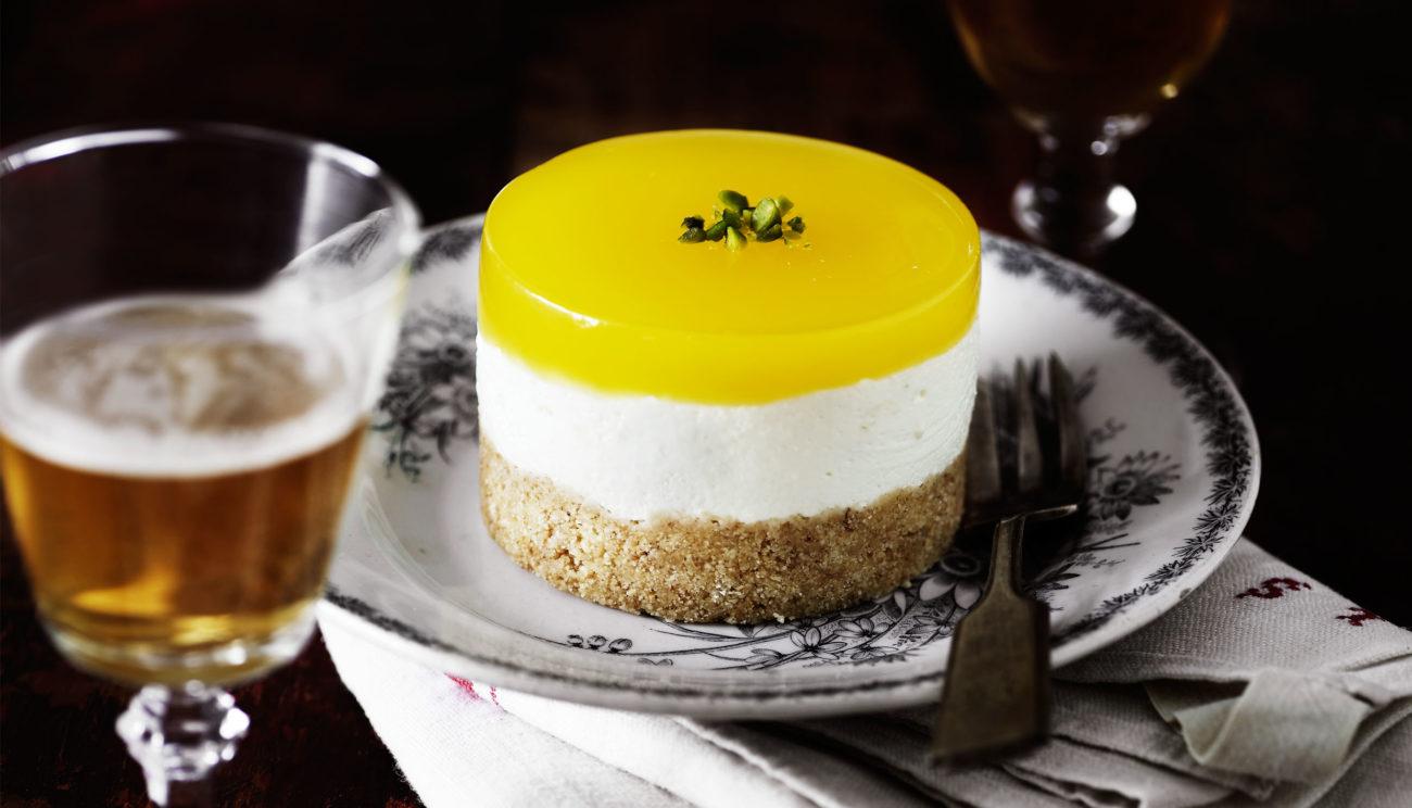 Cheesecake med mandaringelé