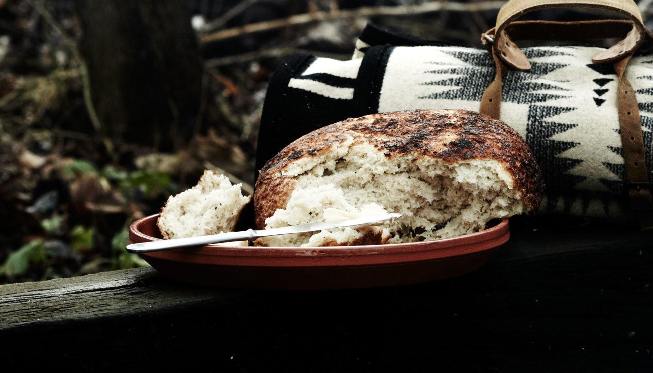 Grydebrød bagt i bål