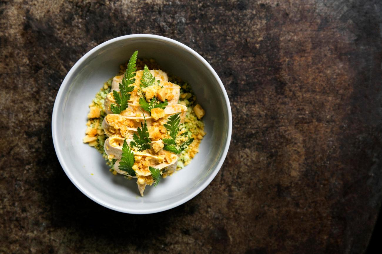 Spis på en prisvinder til Dining Week