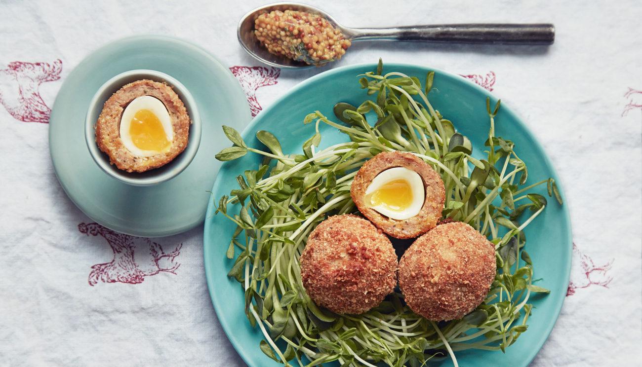 Påskeharens skotske æg