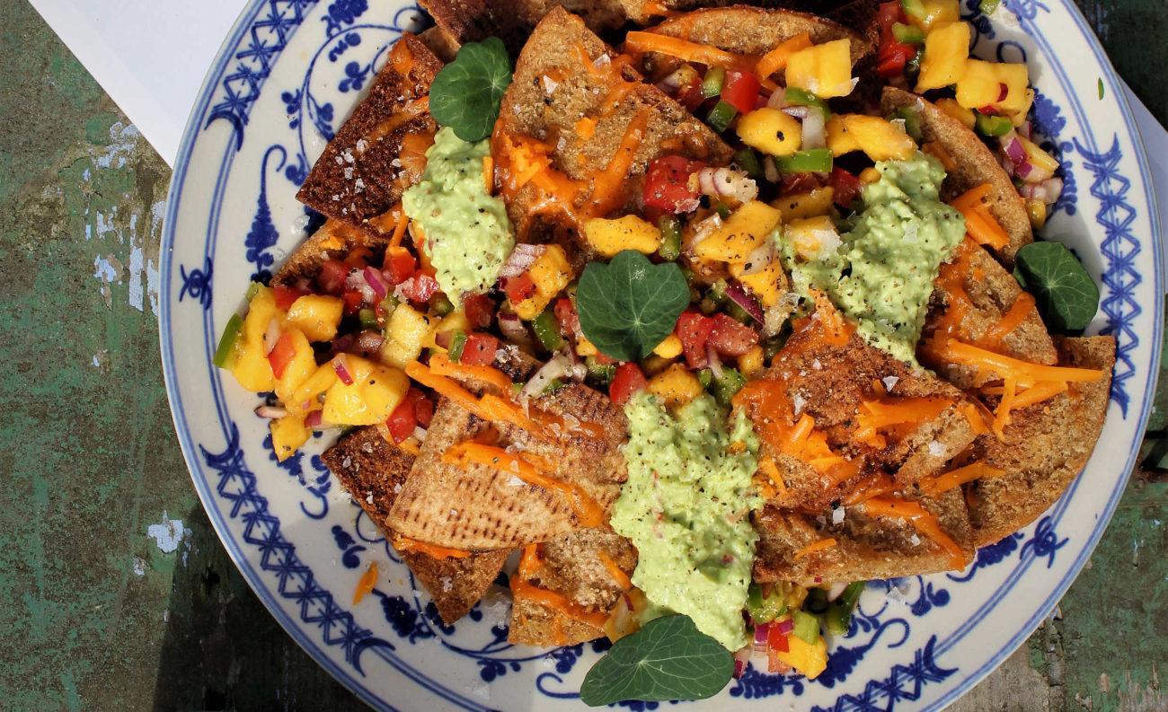 Sunde og hjemmelavede nachos