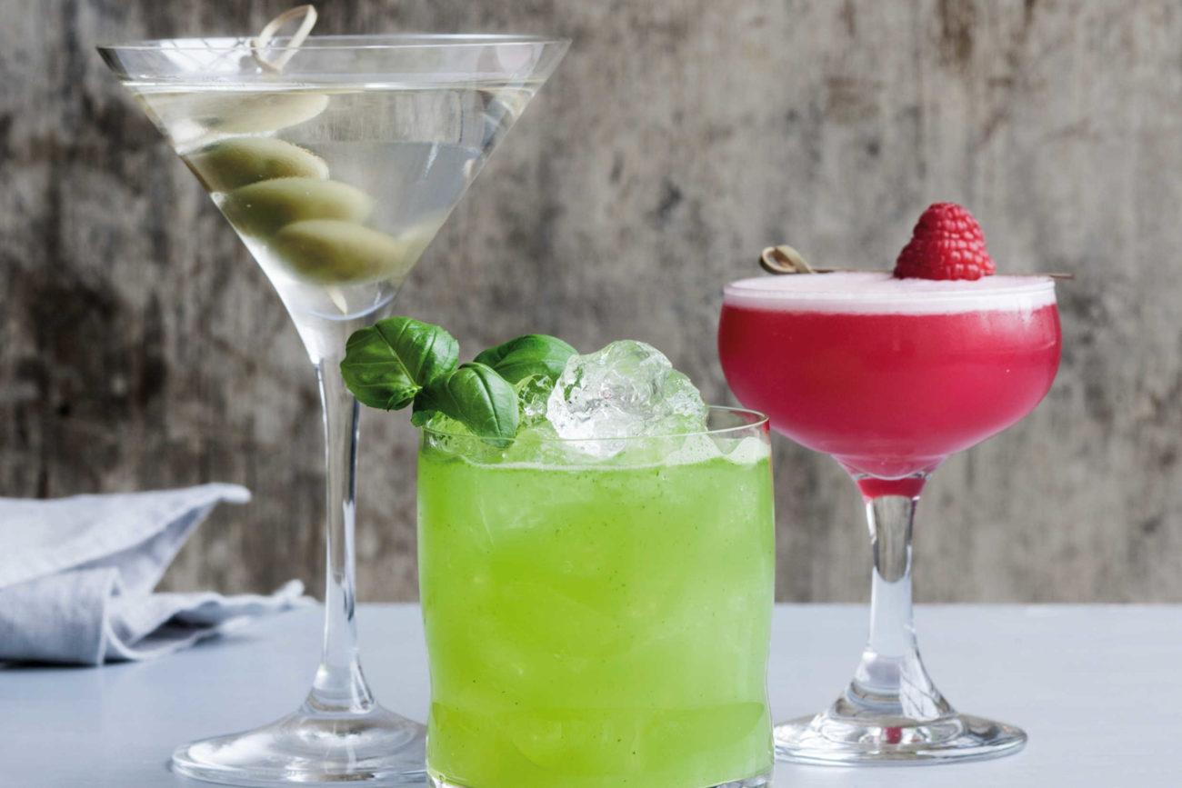 Gode gamle drinks med gin