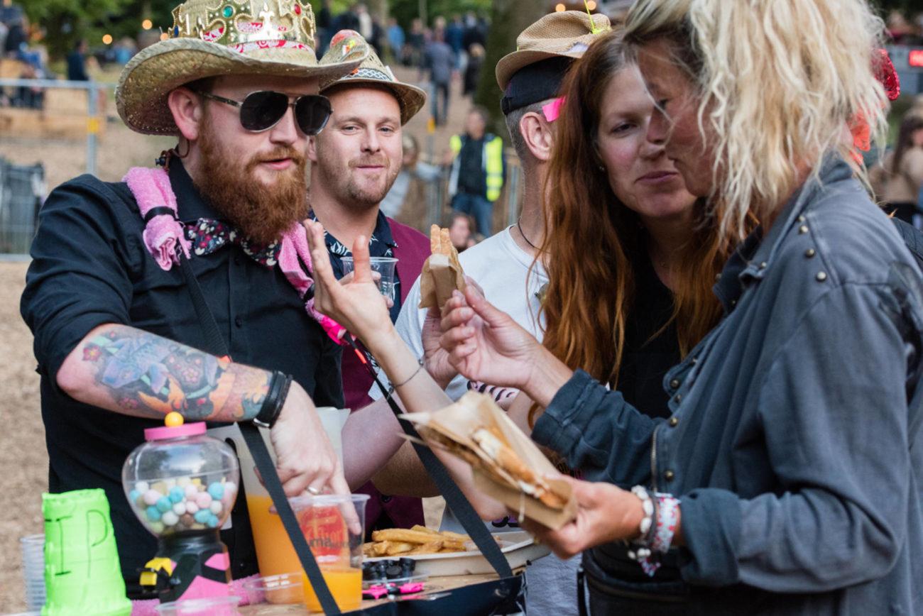 Madfest på Smukfest