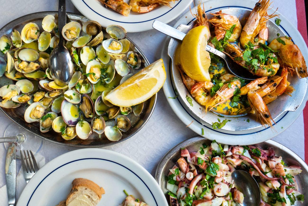 Spis dig lykkelig i Lissabon