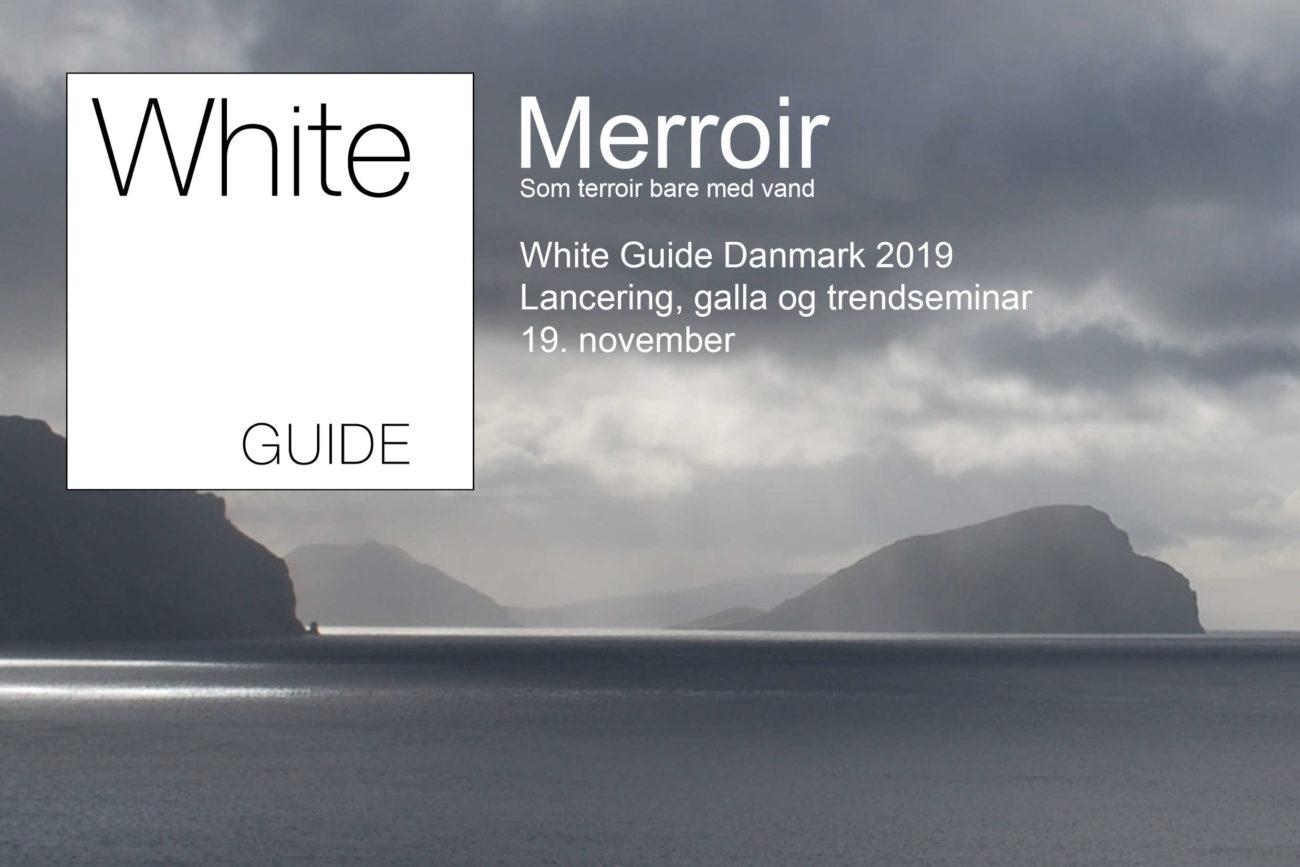 Kom med til lanceringen af årets White Guide 2019
