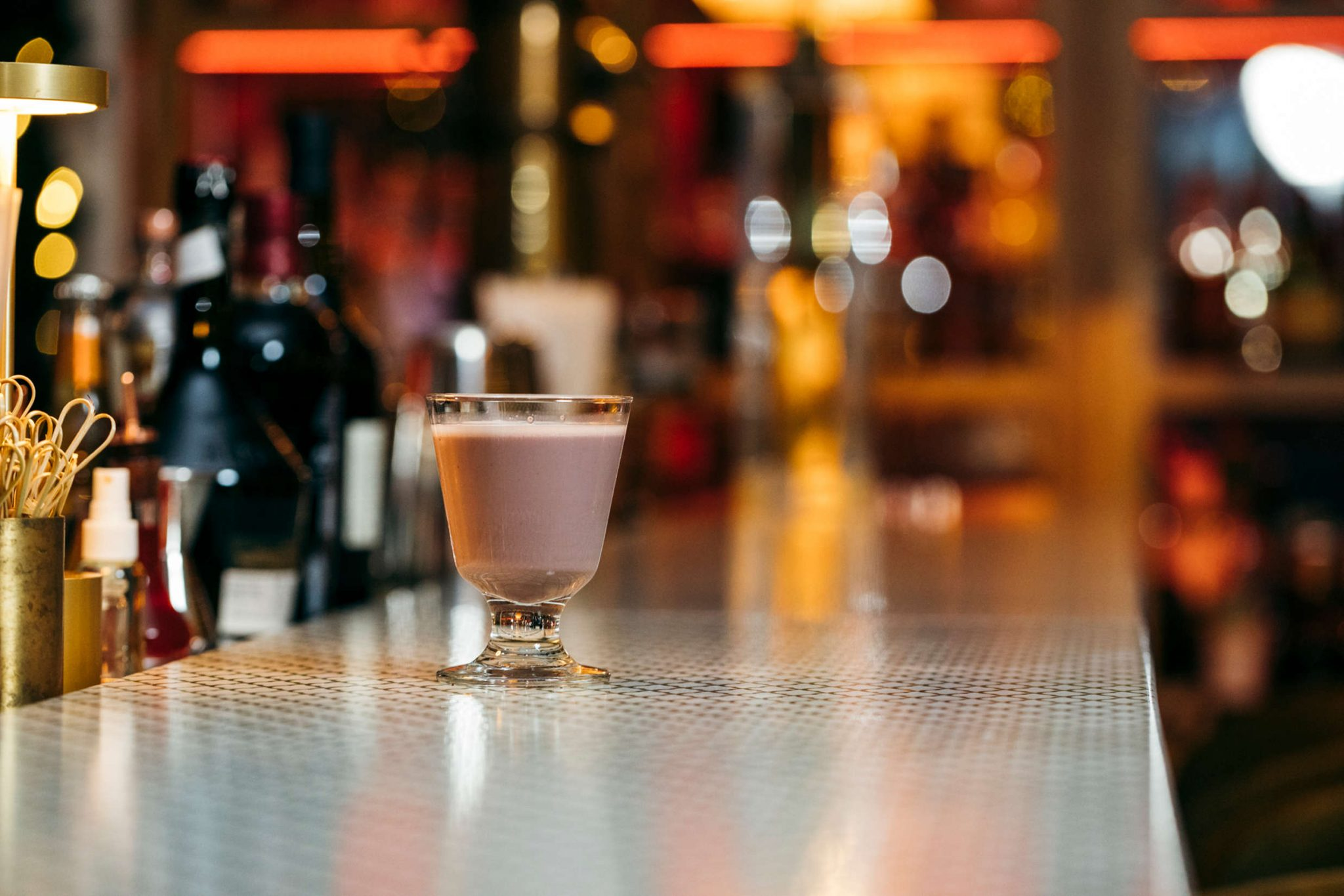 cocktail singleton and port flip