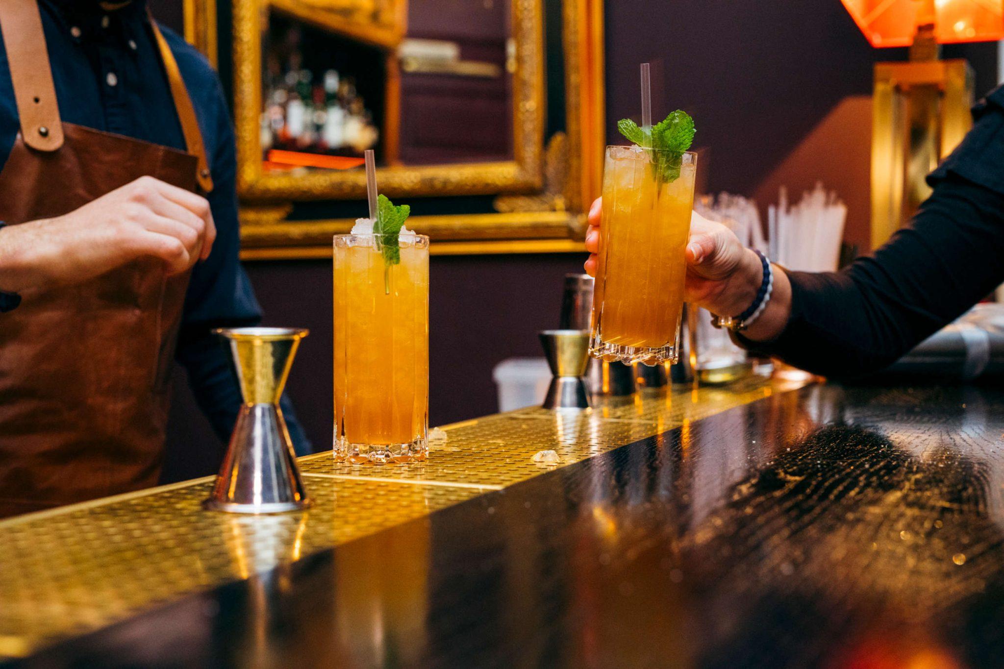 cocktail zacapa swizzle