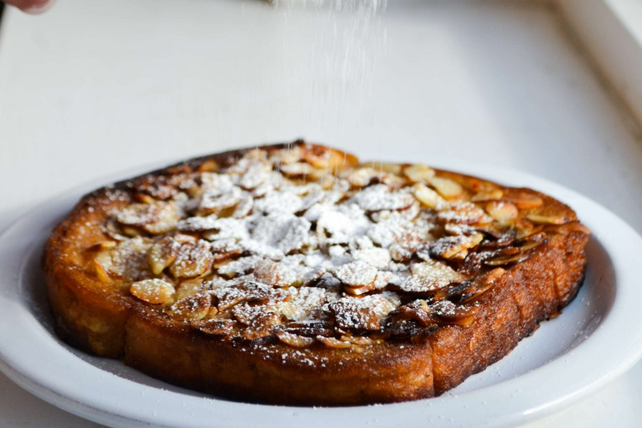 French toast med hasselnødder