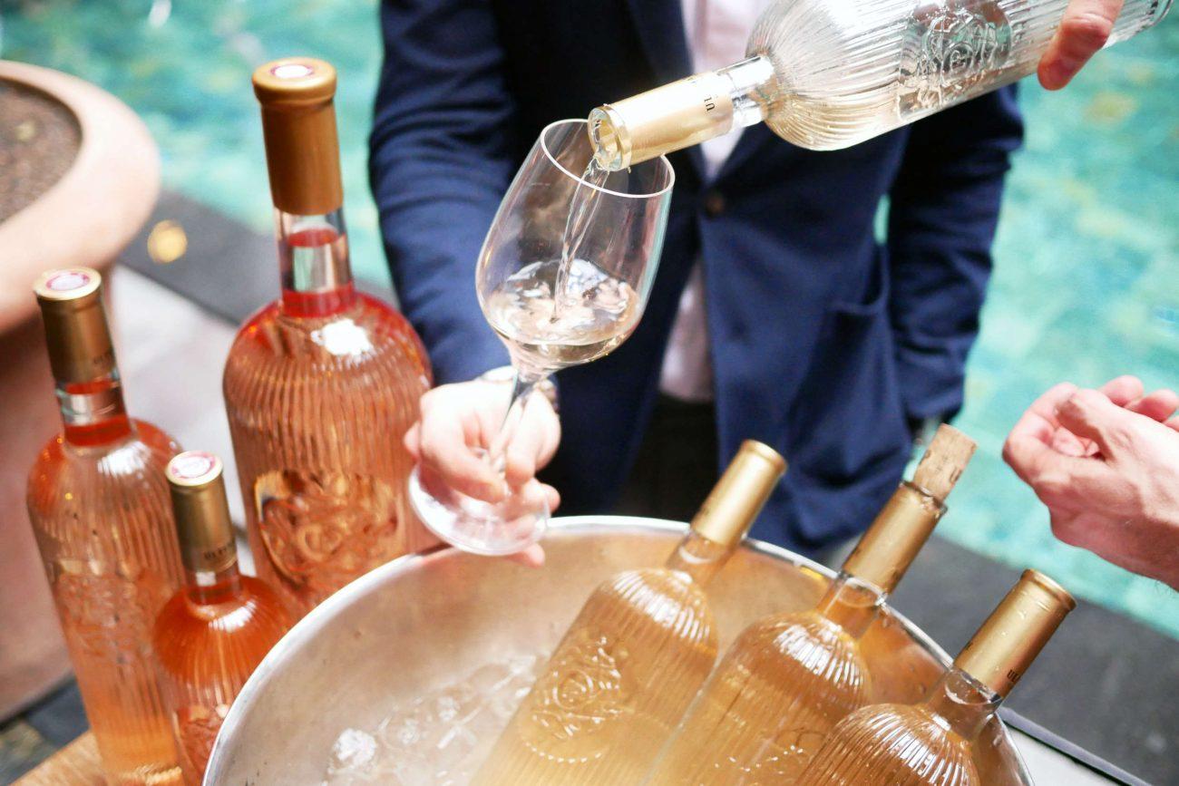 Theis Vine skyder rosésæsonen i gang med festlig lancering