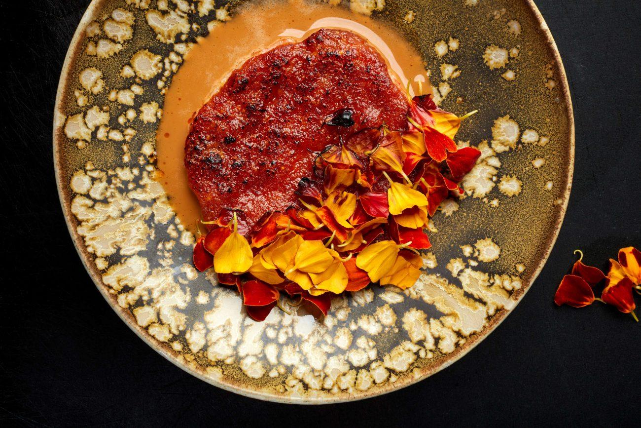 Jomfruhummer med chorizo og parmesan
