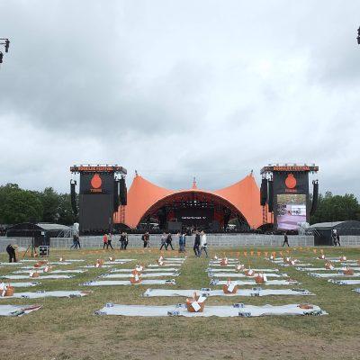 Fotoreportage: Picnic foran Orange Scene