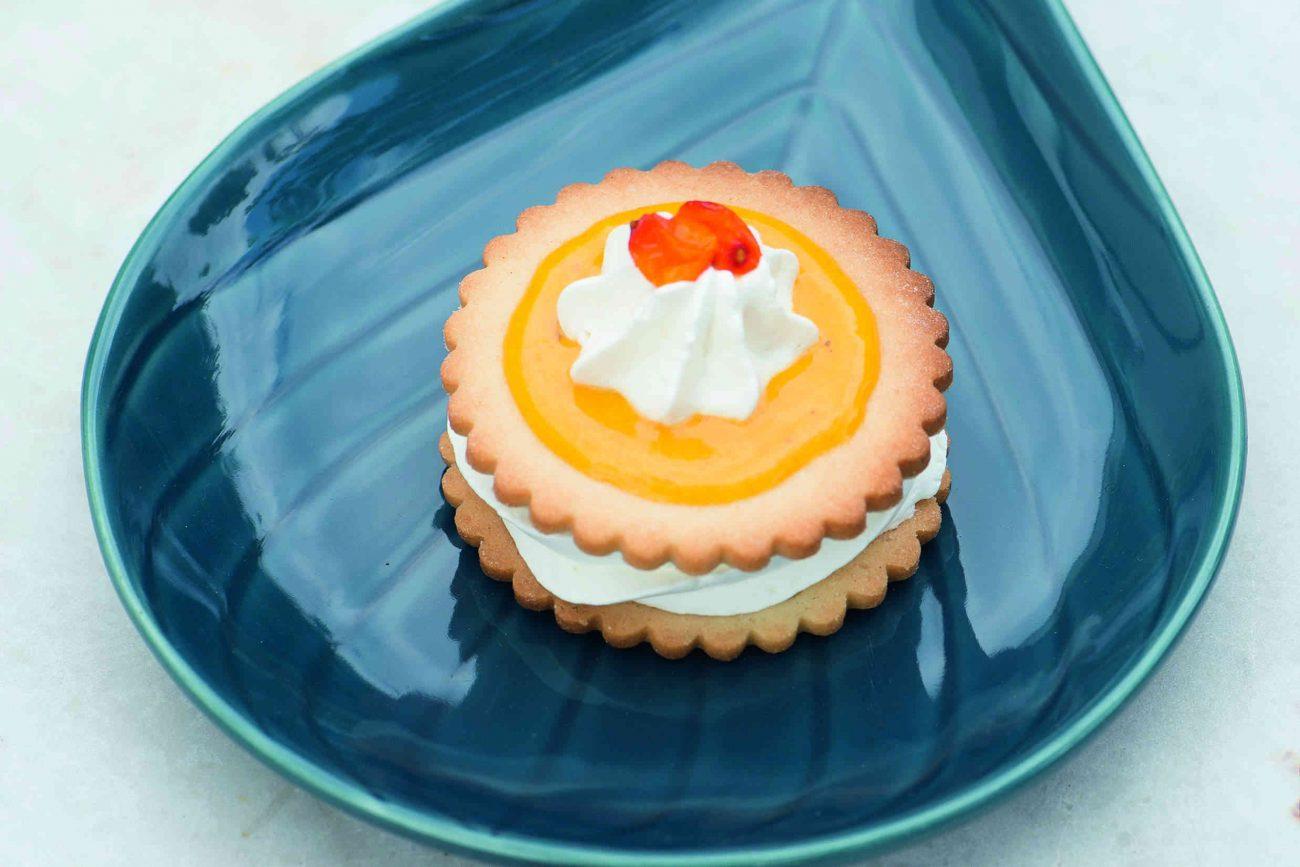 Søde desserter med et syrligt tvist