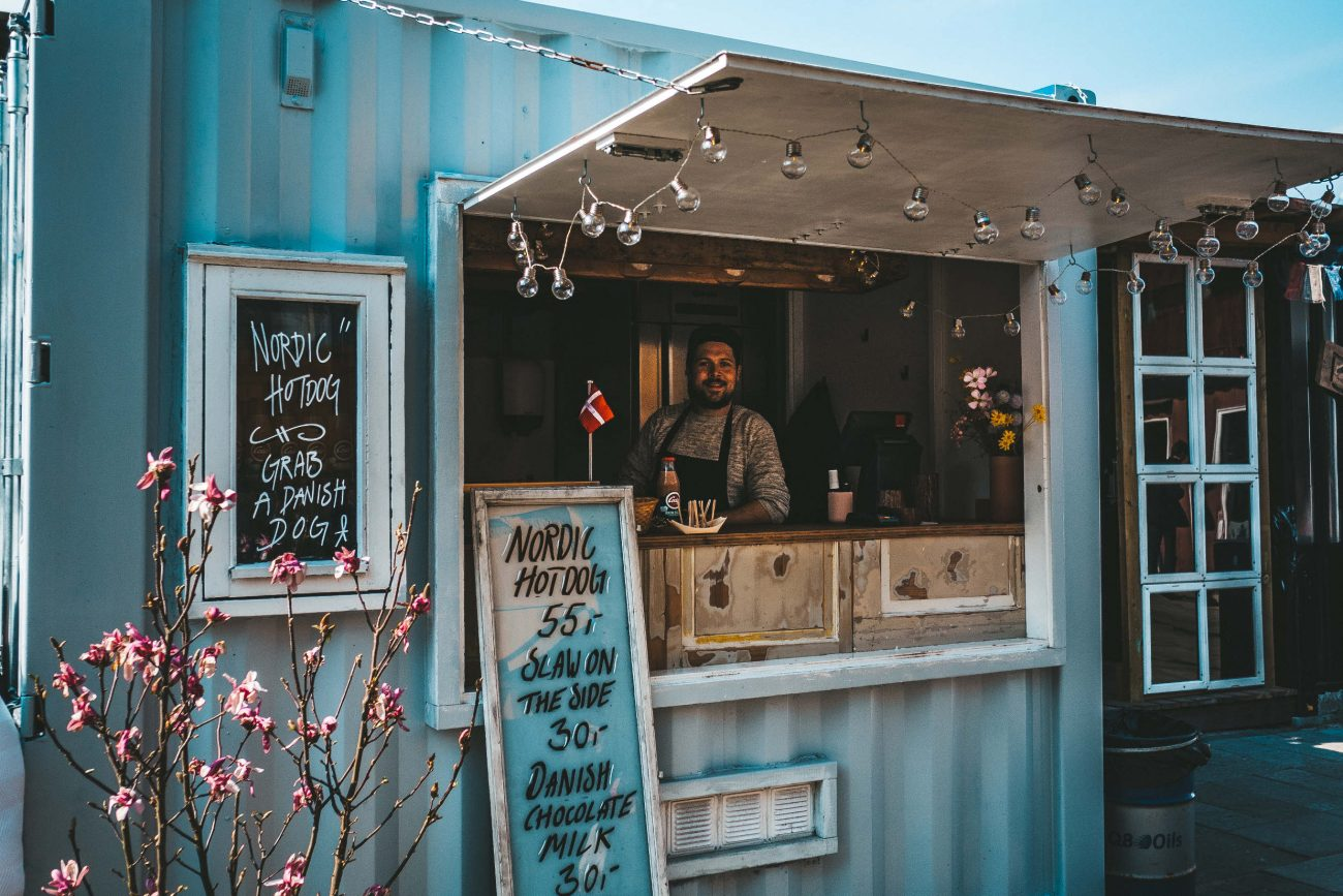 """Hotdog'en er autentisk, dansk streetfood"""