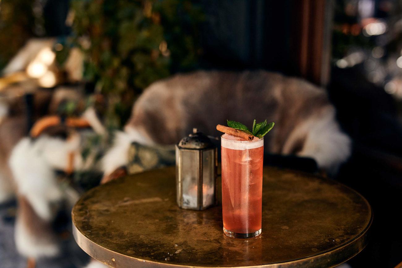 Varm dig på en cocktail i højtiden
