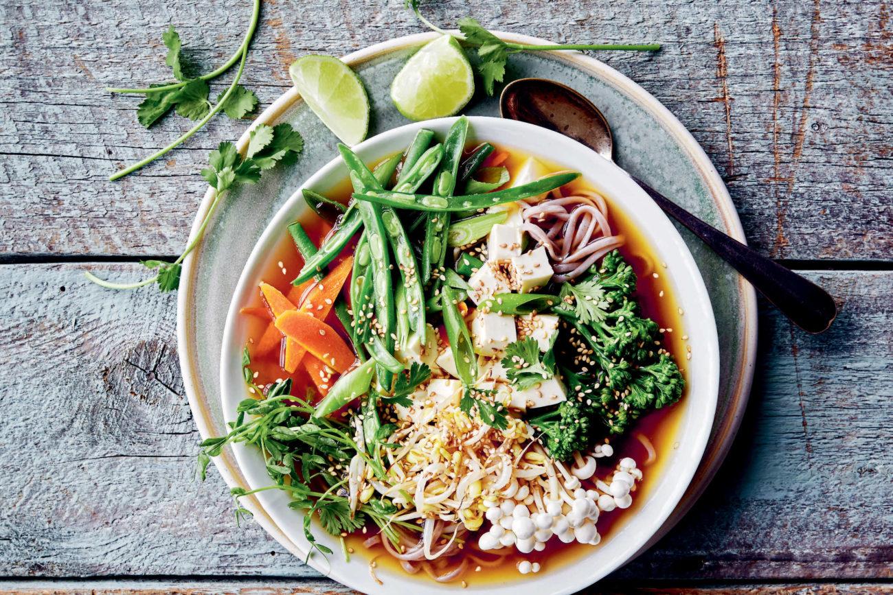 Grøn mad, der holder dig sund og mæt
