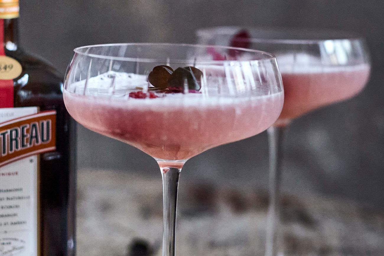 Raspberry Cointreau Love