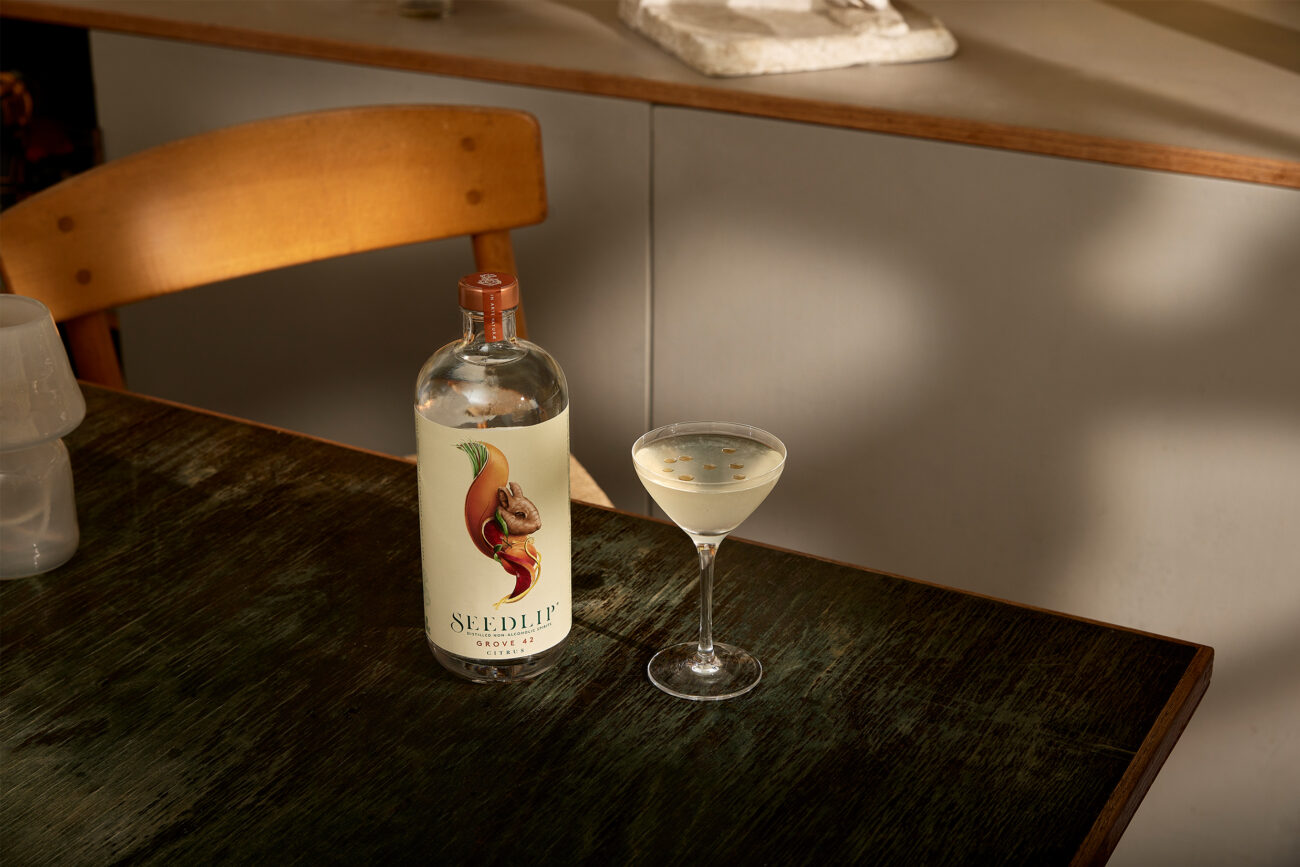 Alkoholfri cocktail: Friendly Gimlet