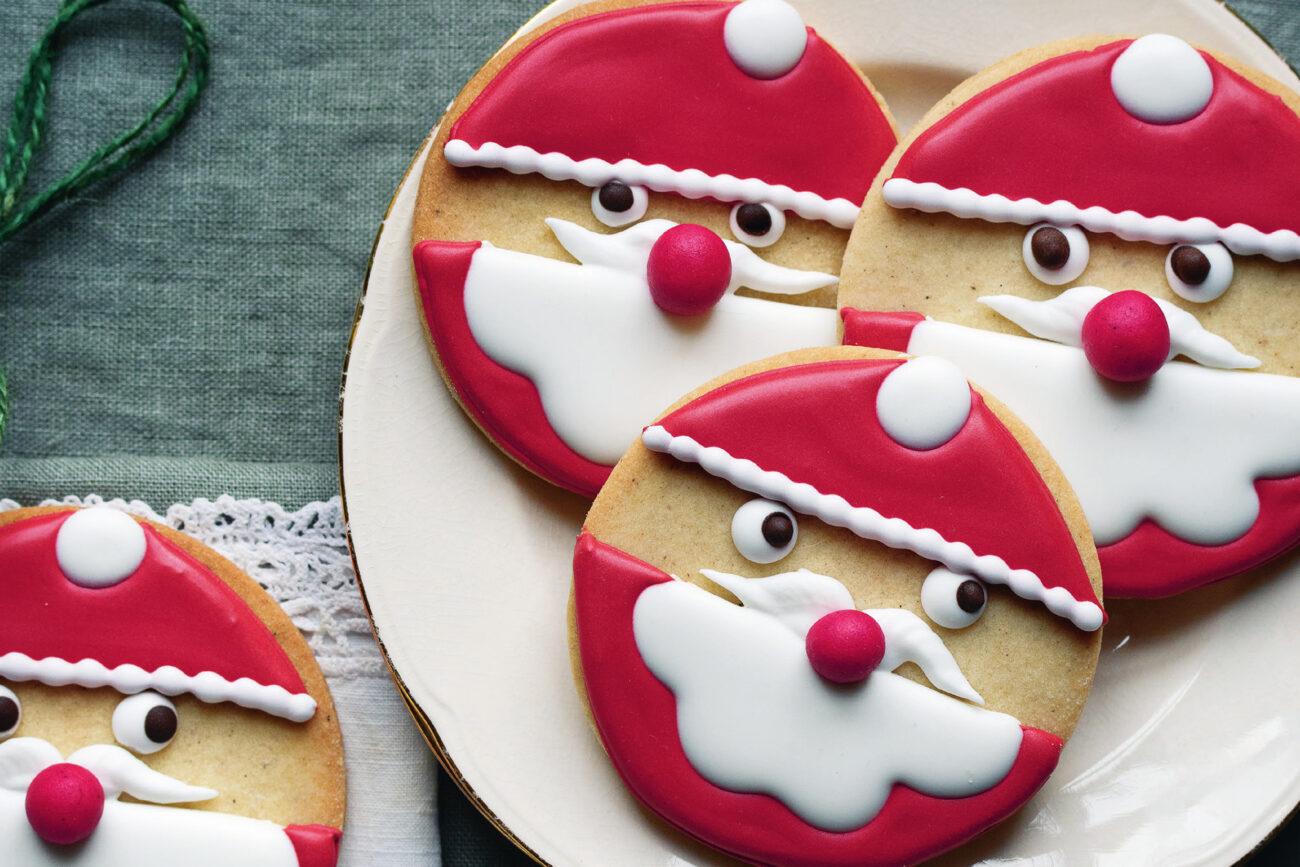 Buttede julemænd