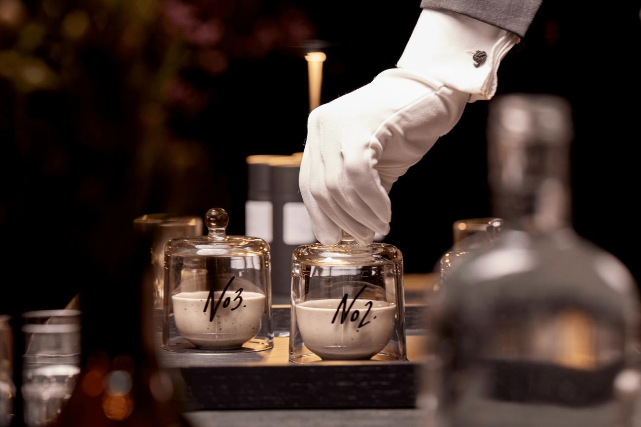 Tanqueray Gin lancerer duftbaseret cocktailkort på Nimb